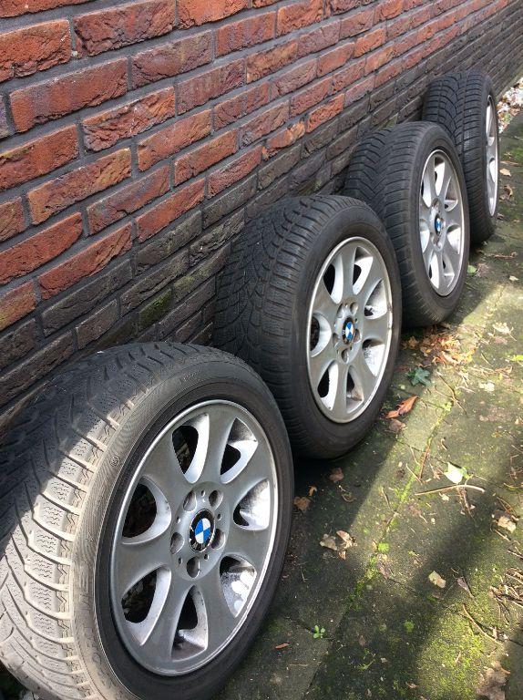 Bmw 1-serie winterbanden set 16