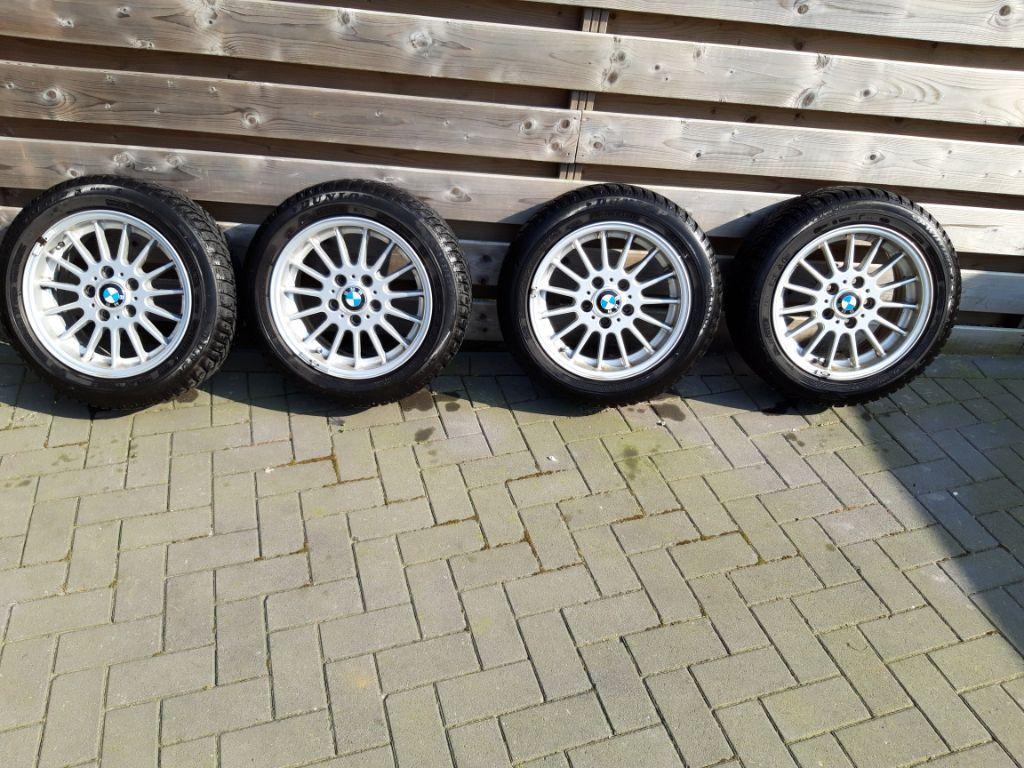 BMW velgen 16 inch met winterbanden 205/55-R16 91H run-flat
