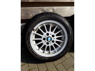 Autobanden BMW velgen 16 inch met winterbanden 205/55-R16 91H run-flat