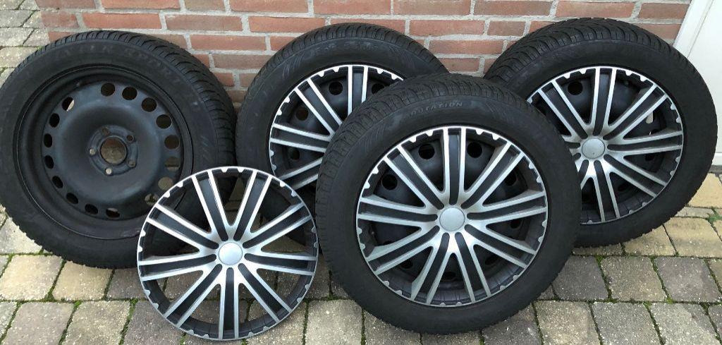 Velgen met winterbanden , Opel Zafira B 5x110