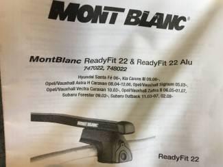 Accessoires Dakdrager Mont Blanc ReadyFit 22