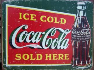 Gezocht: Authentieke reclameborden Coca Cola gezocht