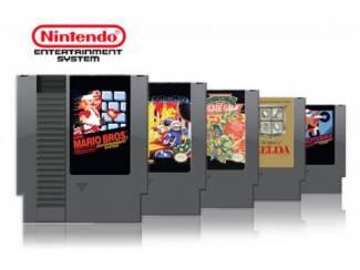 Gezocht: Nintendo NES games die in zeer goede staat zijn