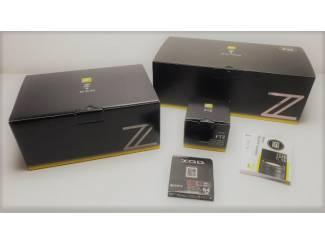 Nikon Z6 body met 24-70mm F4 S Nikkor Z en adapter FTZ
