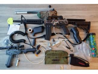 Paintball Tippmann A5 custom compleet TEAB