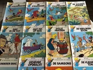 Boeken:Jommekes belevenissen 15 stuks,veel aangename leesplezier