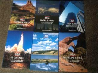 Boeken ;6 prachtige boeken van het prachtig land USA ,mooie fotos