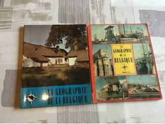 2 BOEKEN;LA GEOGRAPHIE d/L BELGIQUE,2 LIVRES ancien