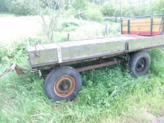 platte hooi wagen voor hobby boer