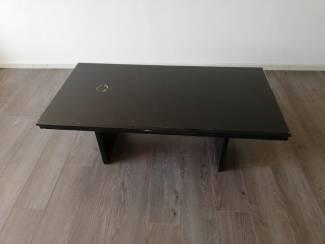 Zwarte salontafel