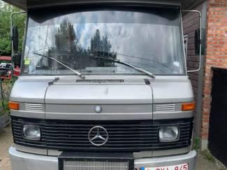 Te koop Mercedes motorhome 608