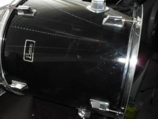 16 inch trommel met poten zwart hoogglans 43cm hoog