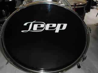 bas drum van JEEP 22 inch zwart hoogglans