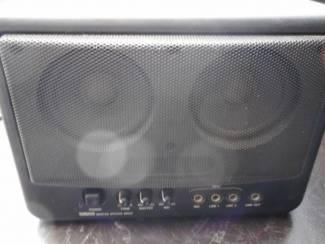 YAMAHA ms202 monitor speaker ingang voor mic line 1 en 2 line out