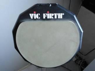 oefen drumpad van vic firth met standaard