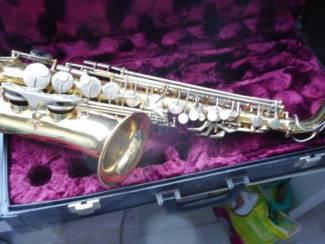 alt saxofoon van WERIL sao paulo-brasil in koffer