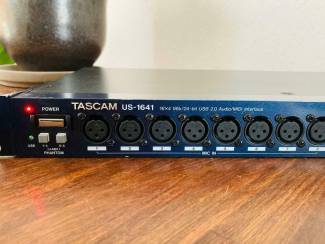 Midi-apparatuur Tascam us-1641 Audio/MIDI Interface