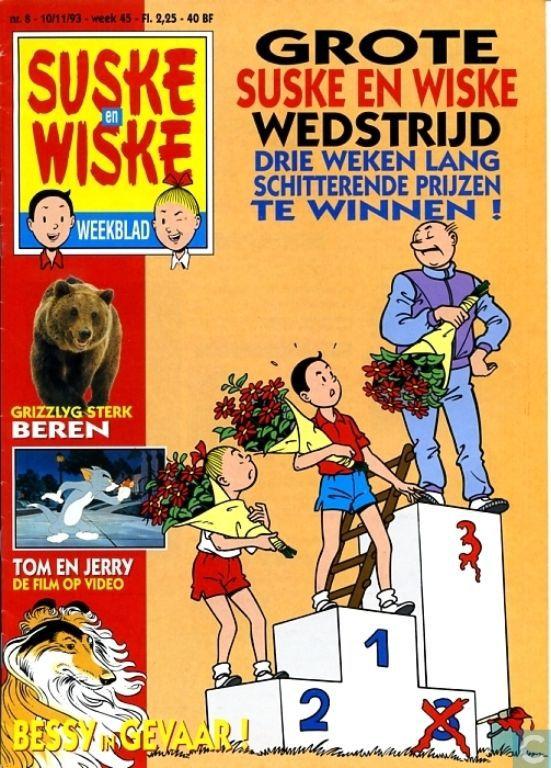 Suske en Wiske weekblad 8 - 1993