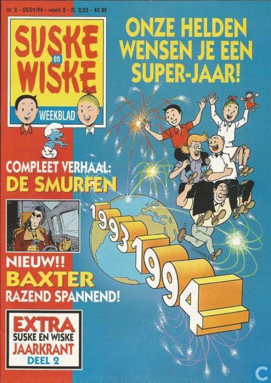 Suske en Wiske weekblad 2 - 1994
