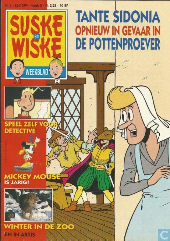Suske en Wiske weekblad 5 - 1994