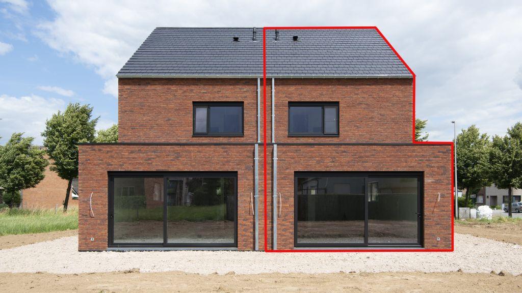 nieuwbouwwoningen in Maasmechelen centrum Belgie