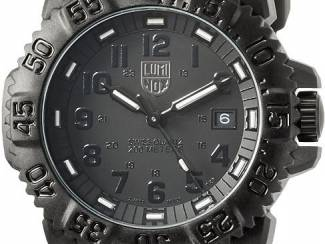 LUMINOX Navy Seal Watch Military water resistant Blackout