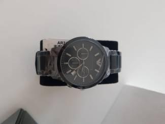 Horloges | Heren Armani horloge nieuw