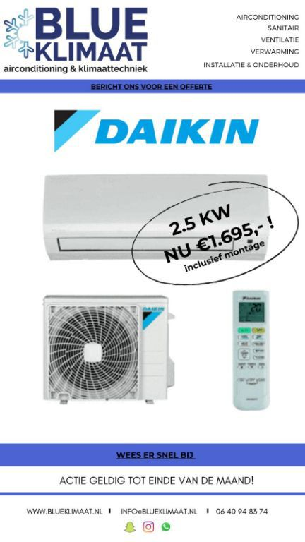 airconditioning & klimaattechniek