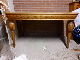 Antieke laat 19de eeuws tafel