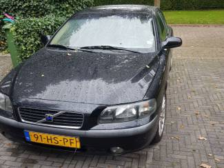 Volvo S60 2.4 140PK Cruise Clima trekh 2001 zwart gratis winterba