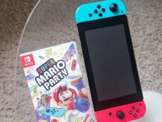 Nintendo switch console en games