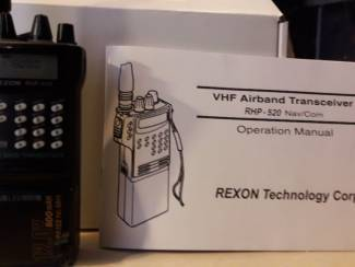 Rexon VHF Airband Tranceiver RHP520