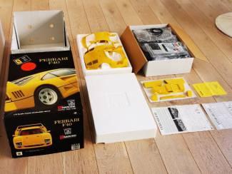 Ferrari F40 Pocher schaal 1:8 Geel ongebouwd.