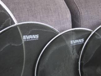 EVANS Sound Off drumvellen set als nieuw