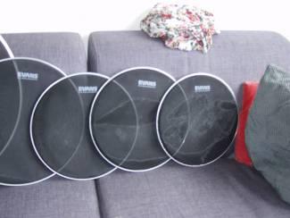 Drumstellen en Slagwerk EVANS Sound Off drumvellen set als nieuw