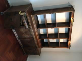 Kasten   Boekenkasten Eiken boeken- dressoirkast