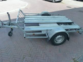 Aanhangwagens en Trailers geremde hoka motortrailer te koop