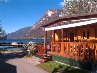 Chalet DIRECT aan meer van Lugano in Porlezza Noord Italie