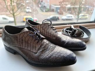 Schoenen leer inclusief mooie riem