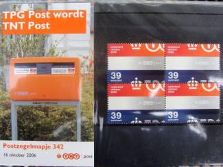 postzegelmapje postfris M342 - 2006
