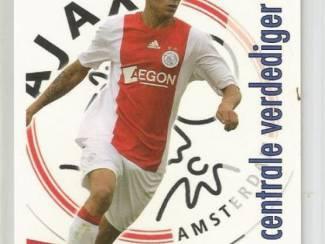 Spelerskaart Ajax - Gregory van der Wiel 2008