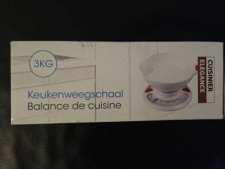 Keuken weegschaal