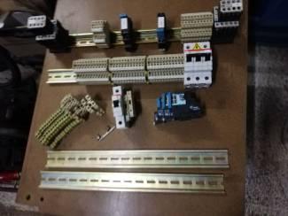 Elektro installatie onderdelen.