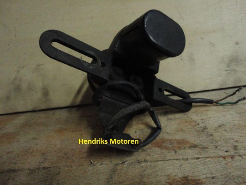 Kentekenverlichting Honda Transalp XL600V.