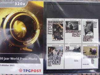 Postzegels | Nederland postzegelmapjes nl M320a en M320b - 2005