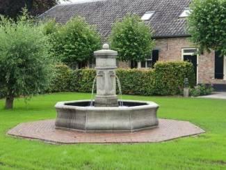 Franse dorps fontein