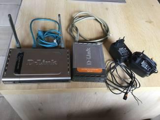 D-LINK / 3 TOESTELLEN ,HANDIG VOOR ETHERNET,Telefonie enz.