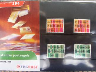 postzegelmapje nl nr. M294 - 2004