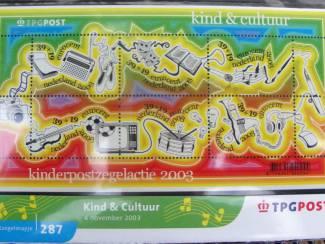 postzegelmapje nl nr. M287 - 2003