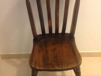 4 antieke engelse stoelen,in goede staat